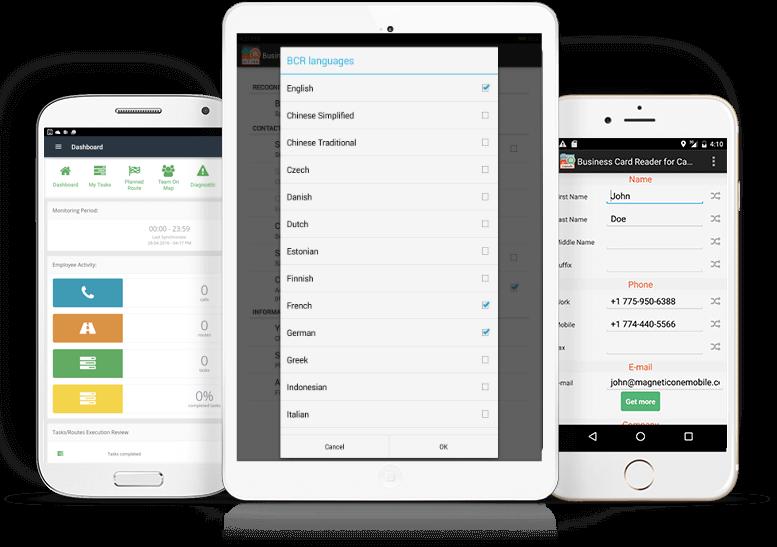app Buisness Card Reader